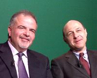 Patrizio Visco e Stefano Galli