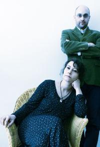 Riccardo Falcinelli e Marta Poggi